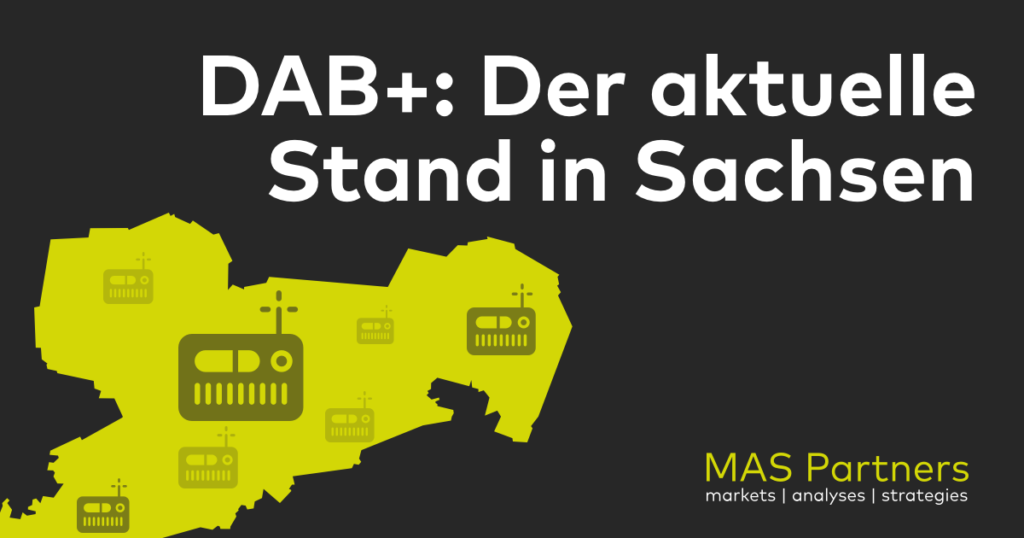 Studie DAB Plus Digitalradio Sachsen 2018